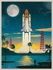 Nasa Vintage Space Poster