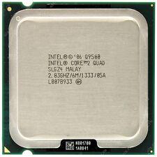 Intel Core 2 QUAD 2.4ghz q9500 s.775 slgz 4 processore + lubrificante termico