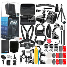 GoPro Max 360 Waterproof Action Camera -With 50 Piece Accessory Kit