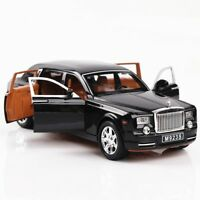 1:24 Diecast Alloy Rolls-Royce Model Car Collectiion Openable Door Pull Back Toy