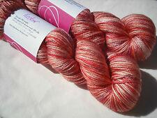 """Phydeaux Knitting Yarn """"Soie DK"""", 50/50 Superwash Merino, Silk, 100g x 210m"""