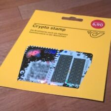 1 x CRYPTO STAMP ★★★★★ ORIGINAL / NEW / MINT / SECRET COLOR + 1 FREE CANDY 🍬