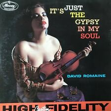 "David Romaine It's Just The Gypsy in My Soul Record 12"" Album 33 rpm vinyl LP"