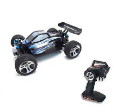 RC auto Buggy bx18 m 1:18 40km/h incl. batería y cargador negro/azul Nuevo