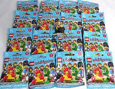 LEGO 8805 Minifigures Serie 5 , 1 kompletter Satz = alle 16 Figuren mit BPZ NEU