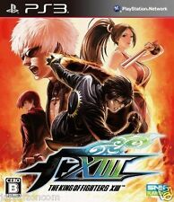 Used PS3 The King of Fighters XIII KOF SONY PLAYSTATION 3 JAPAN JAPANESE IMPORT