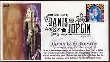 2014 JANIS JOPLIN ~ GLEN CACHET~ FIRST DAY COVER