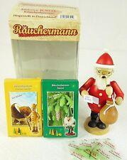 Rauchermann Germany Wooden Santa Smoker 2 Boxes Incense Burner