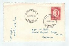 1954  Denmark   Cover   30ore Art Academy 200 Year  FDC on Photo Postcard