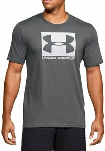 Under Armour Men's Boxed Sportstyle Short Sleeve T-shirt Grey White 3XLT