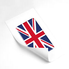 Union Jack Flag Domed Gel Stickers Universal Vinyl Decals United Kingdom UK 65mm