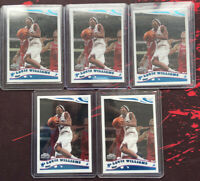 2005-06 Topps Chrome LOUIS LOU WILLIAMS Rookie Card RC SP 213 76ers Clippers Lot