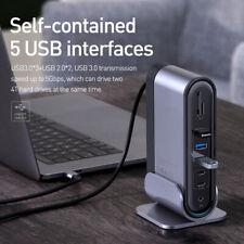 Baseus USB C HUB Type C to Multi HDMI USB 3.0 with Power Adapter Docking Station