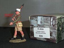 King and country EA63 8TH Ejército legión extranjera marchando con rifle soldado de juguete