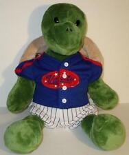 """Build a Bear Plush Trekkin Turtle w Shell n Baseball Suit Retired Stuffed 17"""""""