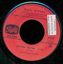DICK RIVERS 45 TOURS FRANCE ET QUAND L'AMOUR S'EN VA+