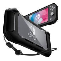 Nintendo Switch Lite Case | Spigen® [Rugged Armor] Matte Black Slim Cover