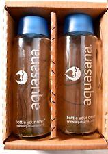 (2 Pack) AQUASANA 18 oz / 500 ml Lead-Free Glass Water Bottle AQ-GB2 >NEW<