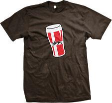 Denmark Dragon Beer Glass Danish Pride Drinking  Mens T-shirt