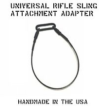 "UNIVERSAL WEAPON RIFLE SLING LOOP M-LOK KEYMOD RAIL ADAPTER 1"" OVAL US MILITARY"