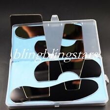 4 Pieces Dental Orthodontic Oral Stainless Steel Photographic Mirror Reflector