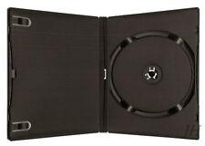 100 Stück Amaray CD / DVD 2 FACH *SCHWARZ* Hüllen Doppel Leerhüllen 190x135x14mm