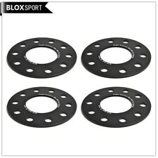 4pcs 5mm wheel spacers 5x120 bolt pattern for BMW bore 72.5/Forged 6061T6 black