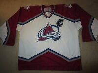 Joe Sakic #19 Colorado Avalanche CCM Stanley Cup Hockey Jersey 2XL XXL