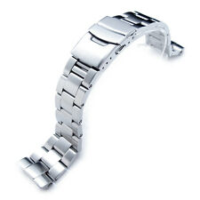 22mm Super Oyster 316L SS Watch Bracelet for New Turtles SRP777 Diver Clasp