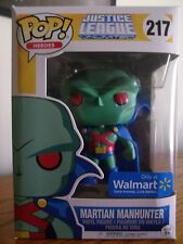 Funko Pop!:Heroes #217 Martian Manhunter (Justice League Unlimited) Walmart Excl