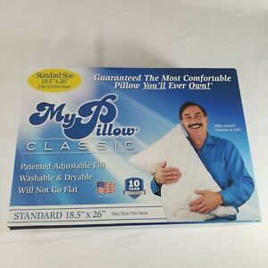 """My Pillow Classic Series Bed Pillow Standard Size 18.5""""x26"""" as seen on tv. NEW"""