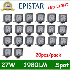 20X 27W LED Work Light Spot Offroad Lamp Tractor Truck boat ATV Jeep 4X4 18W 36W