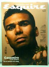 REVISTA MAGAZINE ESQUIRE SPAIN MAY 2018  COVER CASEMIRO