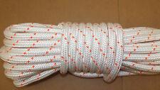 "5/8"" x 200' Double Braid Rope, Arborist Bull Rope, Rigging Line, Hoist Line, NEW"