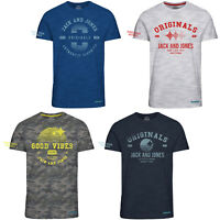 Jack & Jones Originals T-Shirt Short Sleeve Cotton Tee Mens Jortelt