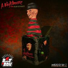Mezco Nightmare on Elm Street Freddy Krueger Burst A Box Jack in the box