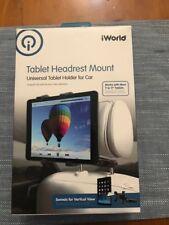 IWORLD TABLET HEADREST MOUNT