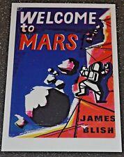 WELCOME to MARS  James Blish POSTCARD