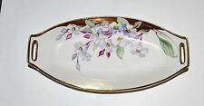 Vintage Nippon Celery Dish ~Open Handled ~Hand Painted ~Japan~Beautiful Design!