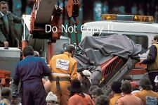 Gilles Villeneuve Ferrari Accident Belgian Grand Prix 1982 Photograph 6
