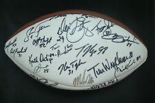 Chicago Bears Superbowl Champs Team Signed Football with Full JSA Letter