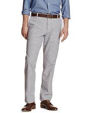 5187-2 Banana Republic Mens Cement Grey Linen Blend Casual Pants 34W x 30L $64