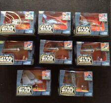 Lot 8 Star Wars Action Fleet Micro Machines New Sealed X-Wing  Slave 1 Boba Fett
