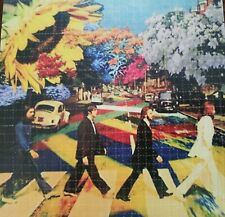 Original Psychedelic Abbey Road Beatles perforated BLOTTER ART psychedelic art