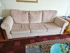 Sofa set living room with hide-a-bed memory foam mattress Bob-o-Pedic, sleeps 2