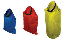 3 Pc Dry Sack Bag Set Water Resistant Terylene Camping Hiking Boating Gear