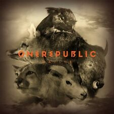 ONE REPUBLIC - NATIVE: NEW DELUXE EDITION CD ALBUM (AUGUST 11th 2014)