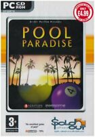 Pool Paradise PC CD ROM - NEW & SEALED