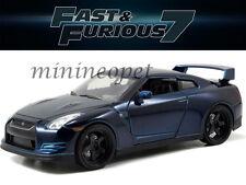 JADA 97036 FAST AND FURIOUS 7 BRIAN'S 2009 09 NISSAN SKYLINE GT R R35 1/24 BLUE