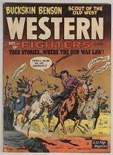 Western Fighters V2 #12 November 1950 FN-